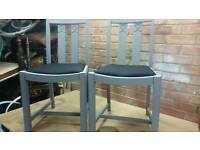 Two Shabby Chic Chairs