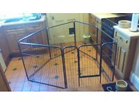 Dog, rabbit, guinea pig ~sectional pet cage or play pen.