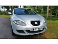 2007 SEAT LEON 1.6 REFERENCE (LOW MILES)