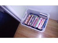 box of dvd' and some pc games