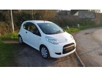 citroen c1 splash white very good condition