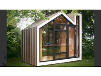 Garden cabins insulated