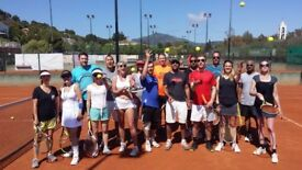 Tennis Holidays for adults in Spain and Cyprus