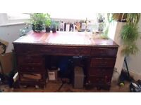 Mahogany partnets desk must go ASAP