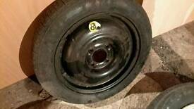 Ford focus,mondeo space saver wheel 15""