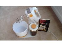Kenwood Chefette - Mixer, Bowl and Blender/Measuring Jug with Stand. Still in box - never used.