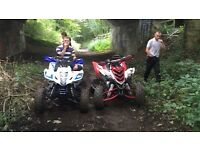 Yamaha raptor special edition road legal