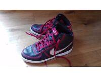 Nike Vandals (Hi-Top) ABC (Atlanta Black Cats) Limited Edition Men's Trainers (UK 10)