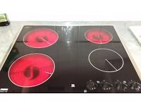 Ceramic electric hob