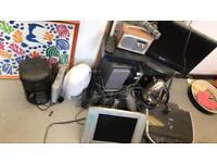 Electrical items - job lot