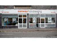 Experienced Ladies Hairdressers required for Conway Hairdressing's brand new salon in Kilmarnock