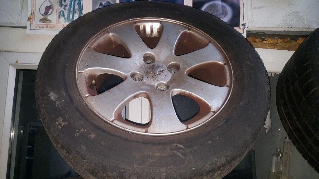 PEUGEOT 307 04 REG 15 INCH ALLOY WHEEL FOR SALE
