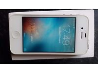 Iphone 4s 16g white unlocked. Great condition