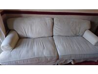 Three seater sofa free to collect