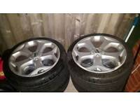 St alloy wheels