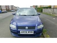 Fiat Stilo blue car