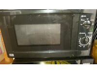 George Home Black Microwave