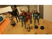 assorted Doctor Who (new series) figures