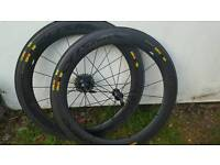Mavic CXR ultimates 60c wheels and tyres