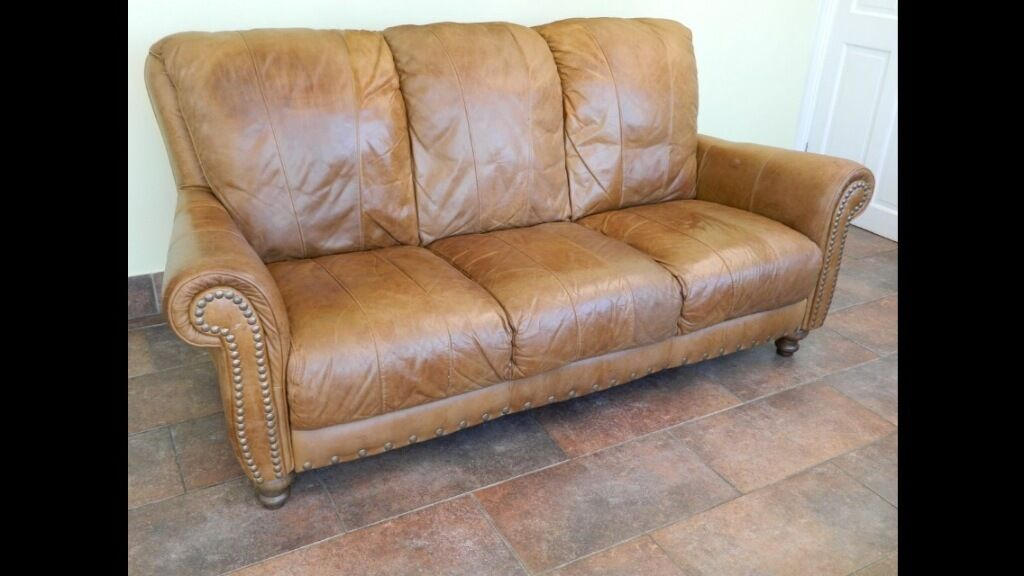 Tan Aniline Distressed Leather Buy Sale And Trade Ads