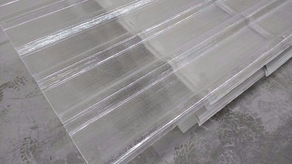 Industrial Grade Uv Resistant Translucent Grp