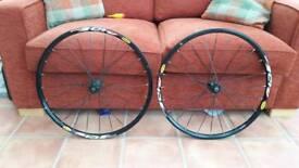 """Mavic crossride wheels 26"""""""