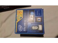 intel I5 4690K, 2x8GB Ram, Msi z97 motherboard, crucial m.2 ssd.