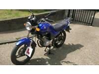 Yamaha YBR 125 learner bike, great condition