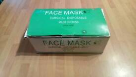 Box of face masks