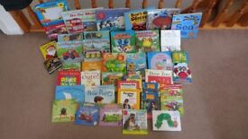 Large bundle of good quality childrens books up to around age 5