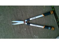 telescopic hedge shear