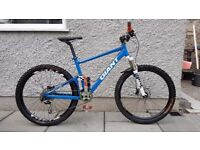Giant Anthem X2 (2010) Mountain Bike (Medium) full suspension