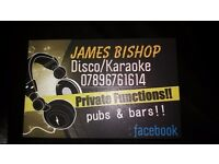Mobile dj /james bishops disco & karaoke