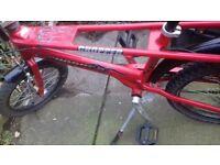 Chopper raleigh chopper bicycle bike fire type