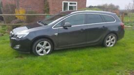 Vauxhall Astra 2012 1.6