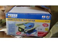 tile saw /cutter 240 v /as new