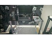 *price reduction* Acer Aspire Desktop PC with black glass desk