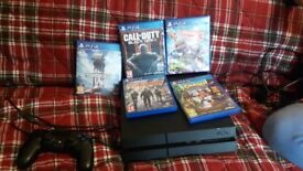 Ps4 5 games all leads 1 controler excellent condition 200 ovno