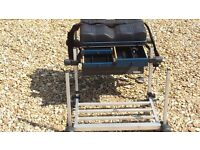 fox seat box with footplate