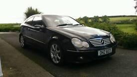 Mercedes C220 coupe diesel auto full years MOT