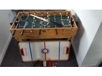 Game table 7 in 1 , Pool, football, hockey and much more