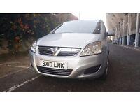 Vauxhall Zafira Silver Semi-AUTO, Diesel, 7 Seater *PCO licensed & UBER Ready