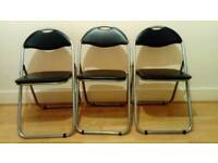 3 Ikea folding chairs in excellent condition and clean