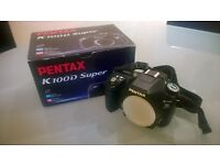 Pentax K100D Super SLR Camera Body- In Excellent Condition