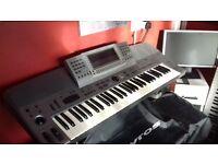 Technics KN6000 arranger workstation.