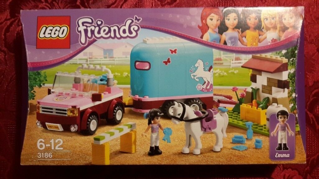 Lego Friends Emmas Horse Trailer 3186 In Ascot Berkshire Gumtree