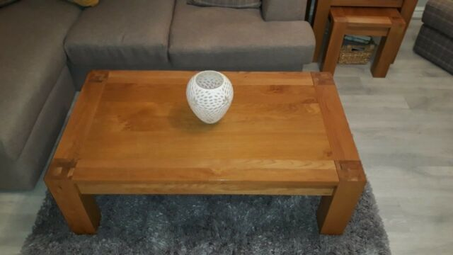 Strange Solid Oak Large Belgica Coffee Table In Falkirk Gumtree Ibusinesslaw Wood Chair Design Ideas Ibusinesslaworg
