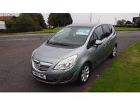 VAUXHALL MERIVA 1.4 SE,2010,Alloys,Half Leather,Glass Roof,Cruise,Air Con,Park Sensors,Full History
