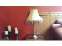 TWO MATCHING TABLE LAMPS..PERFECT CONDITION..MORE AVAILABLE ,PLEASE SEE ALL PICTURES