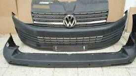 VW T6 front and rear bumper